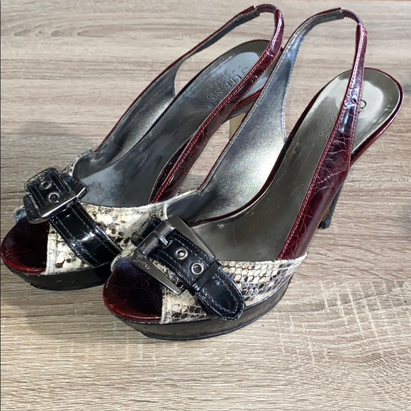 Guess Heels With Buckle